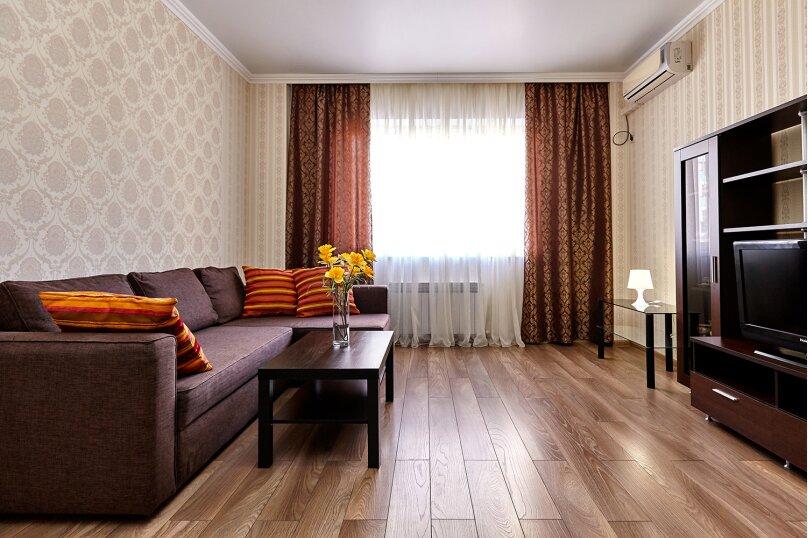 1-комн. квартира, 52 кв.м. на 4 человека, Казбекская улица, 7, Краснодар - Фотография 3