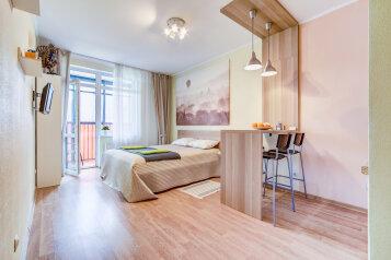 1-комн. квартира, 35 кв.м. на 3 человека, улица Адмирала Черокова, 20, Санкт-Петербург - Фотография 1