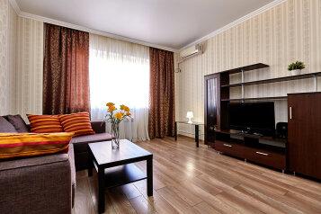 1-комн. квартира, 52 кв.м. на 4 человека, Казбекская улица, 7, Краснодар - Фотография 1