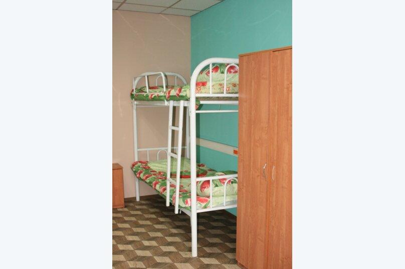 Кровать в общем 8-местном номере для мужчин, деревня Дубровки, Аэропортовская улица, с7, Москва - Фотография 1