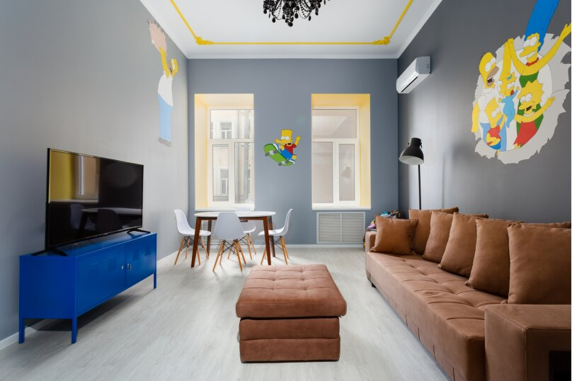 3-комн. квартира, 100 кв.м. на 6 человек, Невский проспект, 105, Санкт-Петербург - Фотография 26