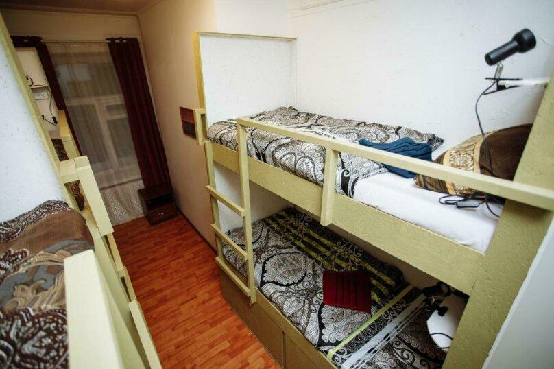 Кровать в общем 6-местном номере для мужчин, Загородный проспект, 24, Санкт-Петербург - Фотография 1