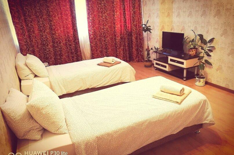1-комн. квартира, 50 кв.м. на 4 человека, улица Островского, 38, Апрелевка - Фотография 1