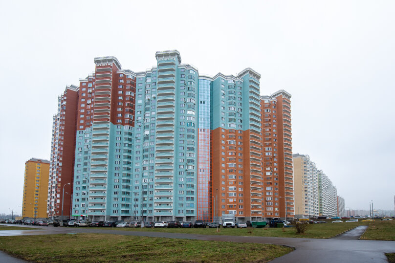 1-комн. квартира, 42 кв.м. на 4 человека, улица Вертолётчиков, 13, Москва - Фотография 13