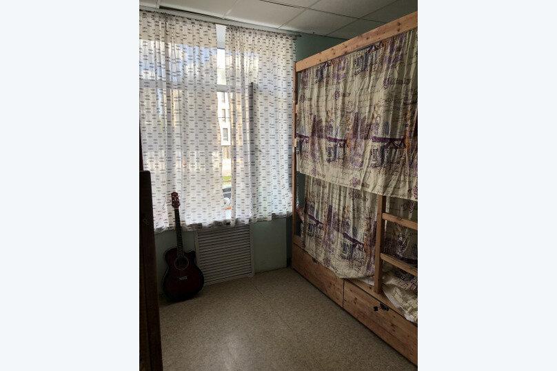 Койко-место в восьмиместном номере с четырьмя двухъярусными кроватями, 2-я Синичкина улица, 19, Москва - Фотография 1