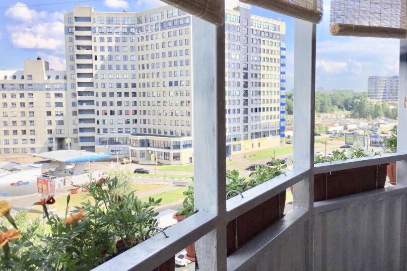 1-комн. квартира, 43 кв.м. на 4 человека, Коломяжский проспект, 36/2, Санкт-Петербург - Фотография 4