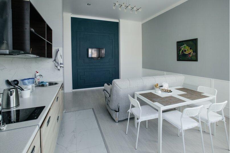 2-комн. квартира, 55 кв.м. на 4 человека, улица Павлюхина, 110Г, Казань - Фотография 3