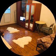 2-комн. квартира, 65 кв.м. на 7 человек, микрорайон Катюшки, Лобненский бульвар, 7, Лобня - Фотография 1