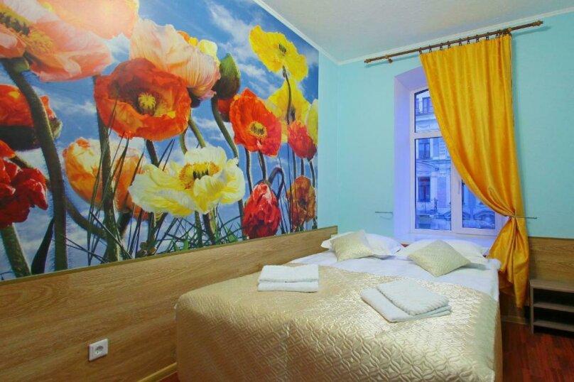 Двухместный номер эконом-класса с 1 кроватью или 2 отдельными кроватями, Пушкинская улица, 9, Санкт-Петербург - Фотография 1