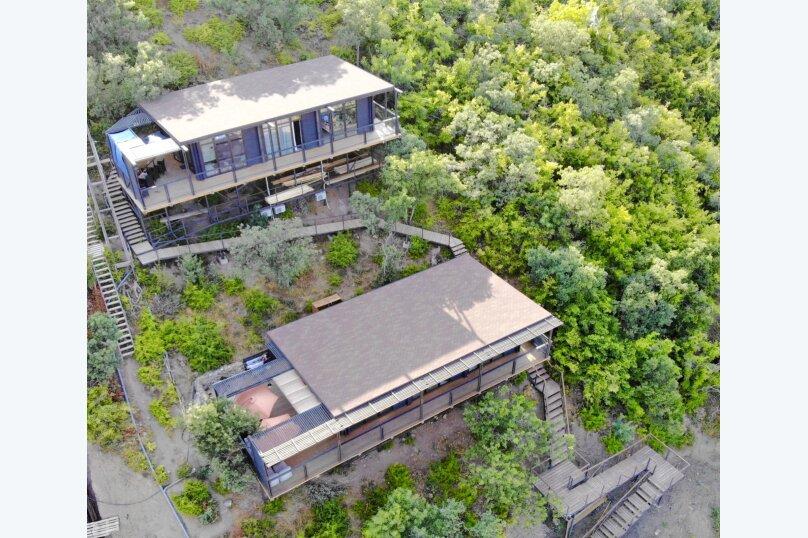 Дом у моря Крым Алушта, 100 кв.м. на 6 человек, 3 спальни, переулок Курортный, 18, Алушта - Фотография 25