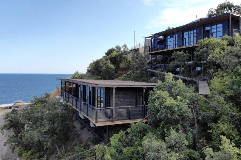 Дом у моря Крым Алушта, 100 кв.м. на 6 человек, 3 спальни, переулок Курортный, 18, Алушта - Фотография 26