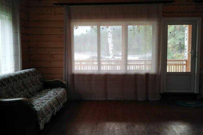Дом у реки Катунь, 130 кв.м. на 8 человек, 4 спальни, Береговая улица, 6, Манжерок - Фотография 2