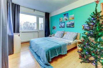 1-комн. квартира, 42 кв.м. на 4 человека, проспект Шаумяна, 39, Санкт-Петербург - Фотография 1