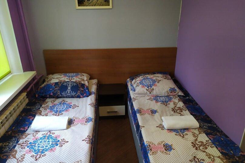 Двухместный номер с двумя раздельными кроватями, Купчинская улица, 22к1, Санкт-Петербург - Фотография 1