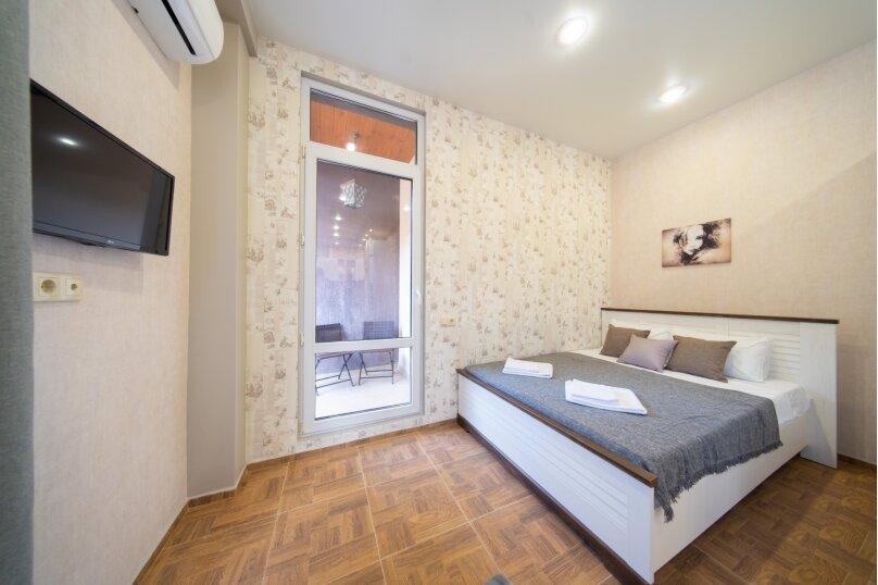 1-комн. квартира, 25 кв.м. на 4 человека, Автомобильный, 58-А, Горки Город - Фотография 1
