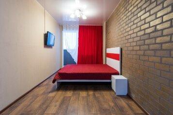 1-комн. квартира, 30 кв.м. на 4 человека, проспект Строителей, 18, Барнаул - Фотография 1