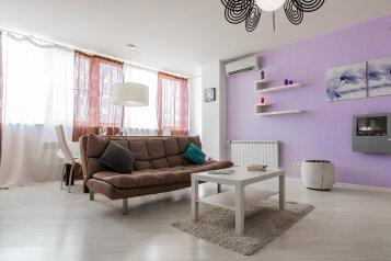 2-комн. квартира, 70 кв.м. на 4 человека, Новороссийская улица, 11, Волгоград - Фотография 1