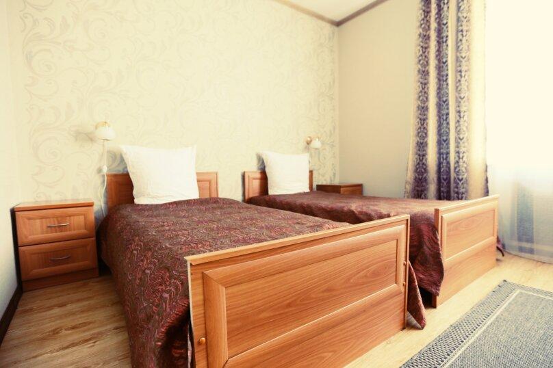 Стандартный номер с двумя раздельными кроватями, микрорайон Мамонтовка, улица Куйбышева, 23А, Пушкино - Фотография 1