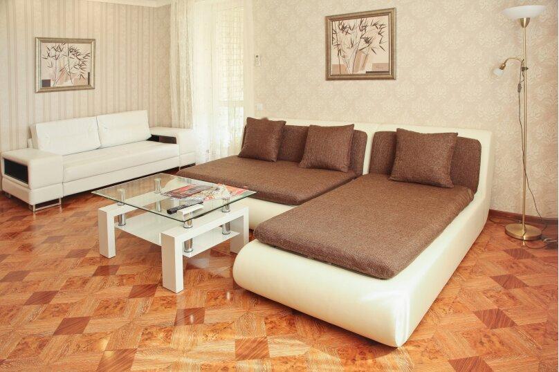 2-комн. квартира, 80 кв.м. на 5 человек, Новороссийская улица, 2Б, Волгоград - Фотография 3