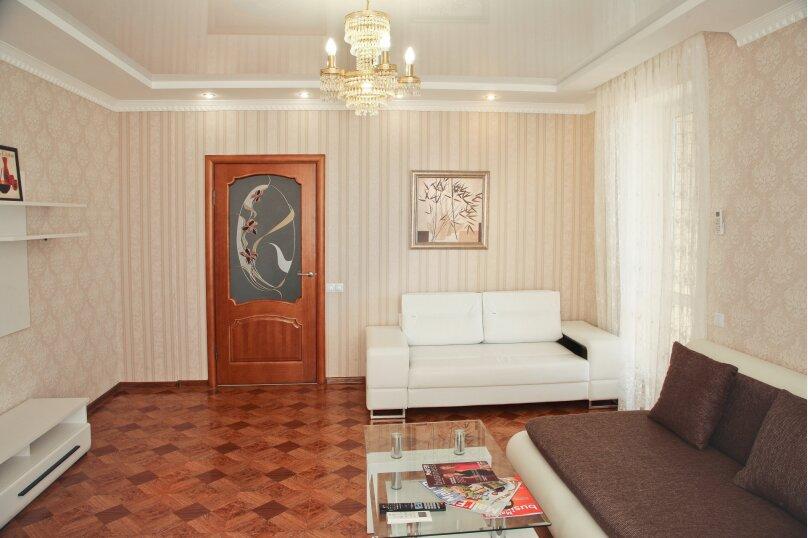 2-комн. квартира, 80 кв.м. на 5 человек, Новороссийская улица, 2Б, Волгоград - Фотография 4
