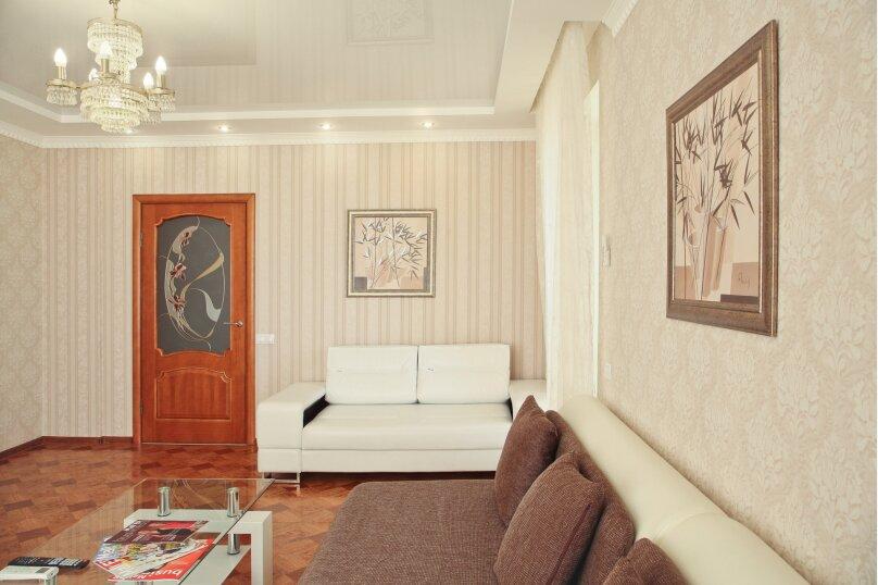 2-комн. квартира, 80 кв.м. на 5 человек, Новороссийская улица, 2Б, Волгоград - Фотография 6
