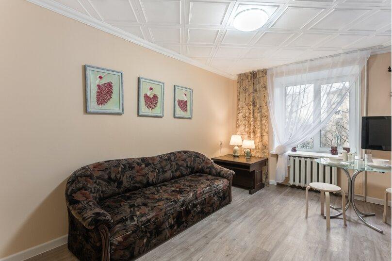 2-комн. квартира, 57 кв.м. на 6 человек, 5-й Красносельский переулок, 5, Москва - Фотография 4