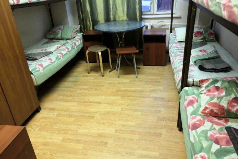 Кровать в общем 6-местном номере для мужчин, Новорязанское шоссе, 6, Котельники - Фотография 1