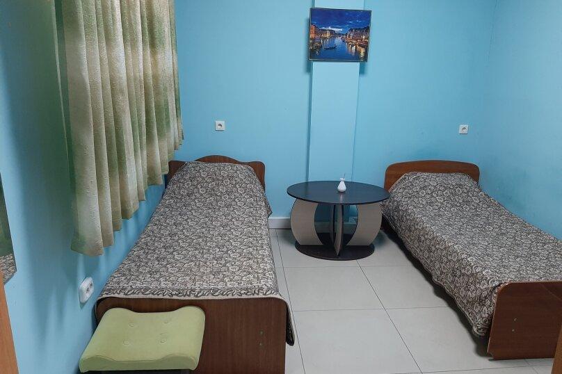 Номер с двумя односпальными кроватями №4, улица Филатова, 47, Краснодар - Фотография 1