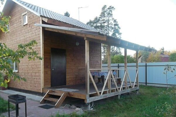 Уютный домик, 70 кв.м. на 8 человек, 4 спальни