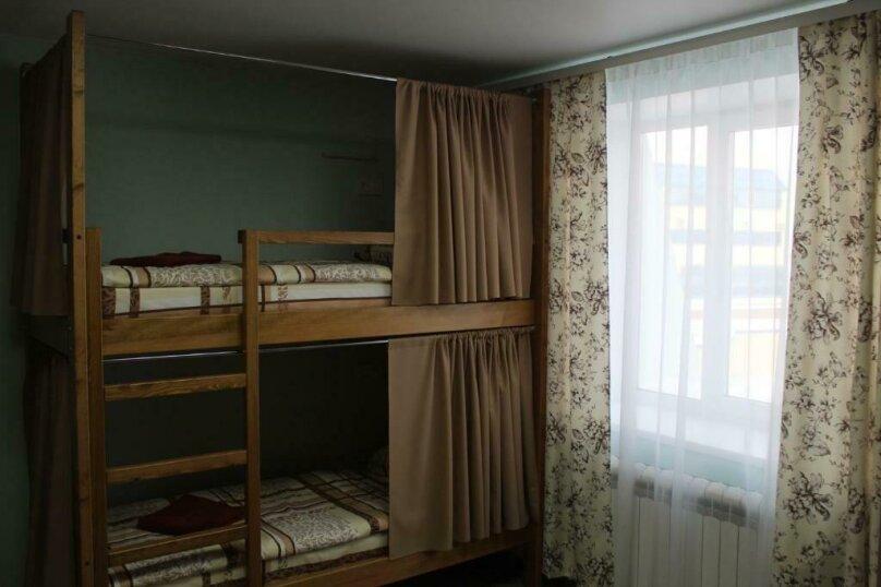 Место в 4-х местном номере, улица Пушкина, 2, Омск - Фотография 1