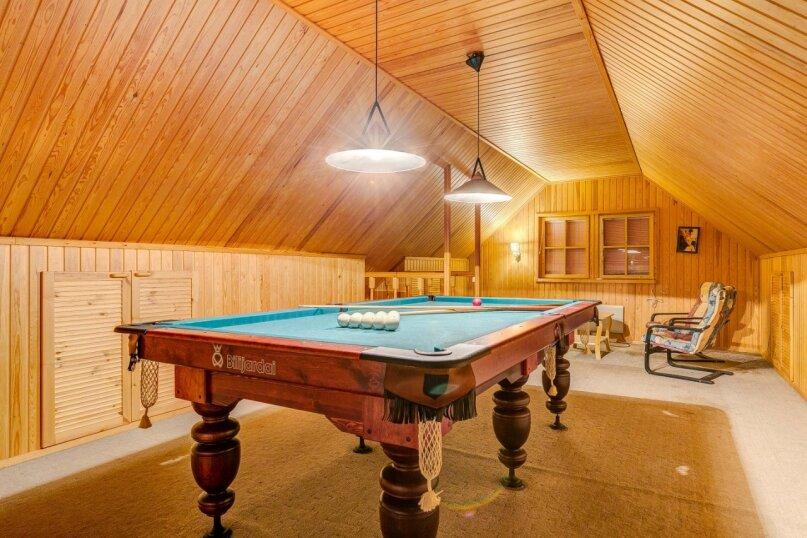 Теплый дом с бильярдом и банькой, 150 кв.м. на 15 человек, 5 спален, улица Луговая, 23, Лисий Нос - Фотография 3