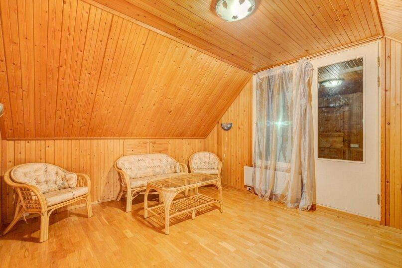 Теплый дом с бильярдом и банькой, 150 кв.м. на 15 человек, 5 спален, улица Луговая, 23, Лисий Нос - Фотография 12