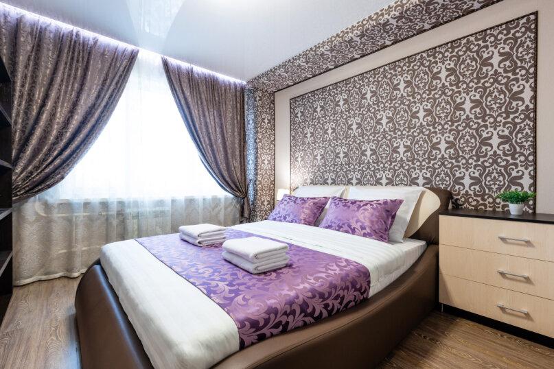 3-комн. квартира, 74 кв.м. на 6 человек, проспект Металлургов, 13А, Красноярск - Фотография 2