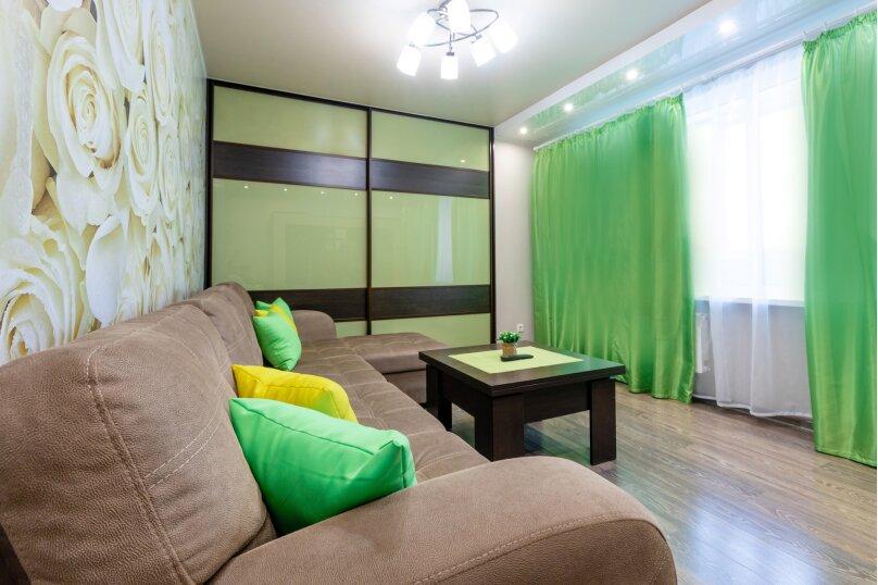 3-комн. квартира, 74 кв.м. на 6 человек, проспект Металлургов, 13А, Красноярск - Фотография 5