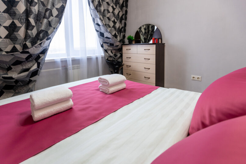 3-комн. квартира, 74 кв.м. на 6 человек, проспект Металлургов, 13А, Красноярск - Фотография 16