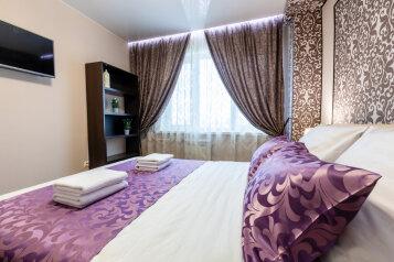3-комн. квартира, 74 кв.м. на 6 человек, проспект Металлургов, 13А, Красноярск - Фотография 1