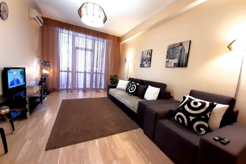 2-комн. квартира, 75 кв.м. на 4 человека, улица Павла Дыбенко, 24, Севастополь - Фотография 26