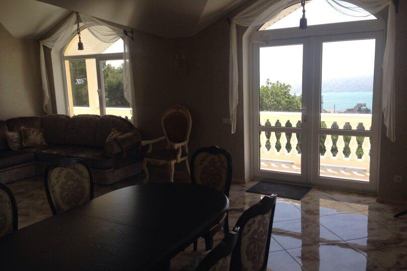 Верхний этаж дома с панорамным видом на море и отдельным входом, 133 кв.м. на 6 человек, 2 спальни, Севастопольское шоссе, 54 Е, Гаспра - Фотография 41