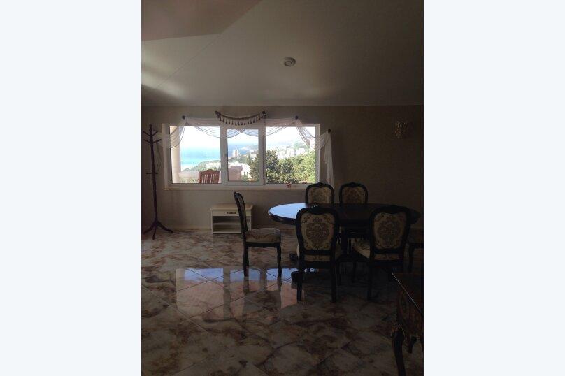 Верхний этаж дома с панорамным видом на море и отдельным входом, 133 кв.м. на 6 человек, 2 спальни, Севастопольское шоссе, 54 Е, Гаспра - Фотография 48