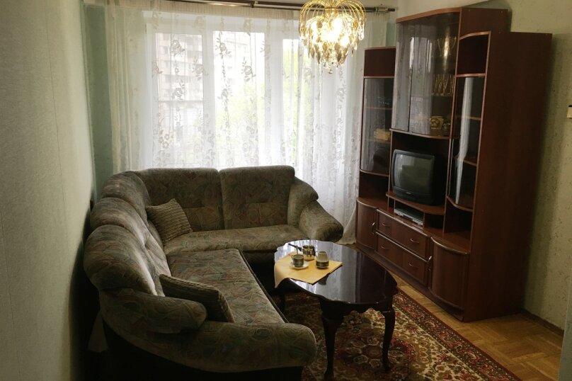 1-комн. квартира, 40 кв.м. на 4 человека, Краснопутиловская улица, 121, метро Московская, Санкт-Петербург - Фотография 2