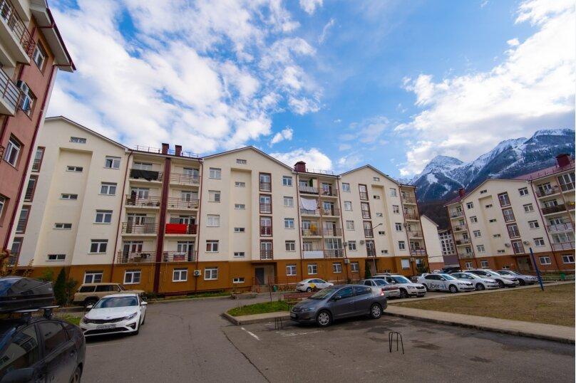 2-комн. квартира, 35 кв.м. на 4 человека, Эстонская улица, 37к5, Эстосадок, Красная Поляна - Фотография 2