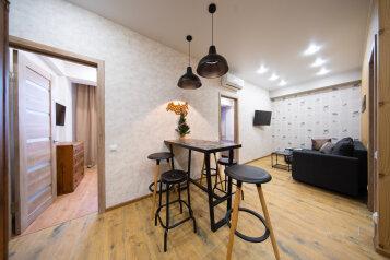 3-комн. квартира, 50 кв.м. на 6 человек, Эстонская улица, 37к5, Эстосадок, Красная Поляна - Фотография 1