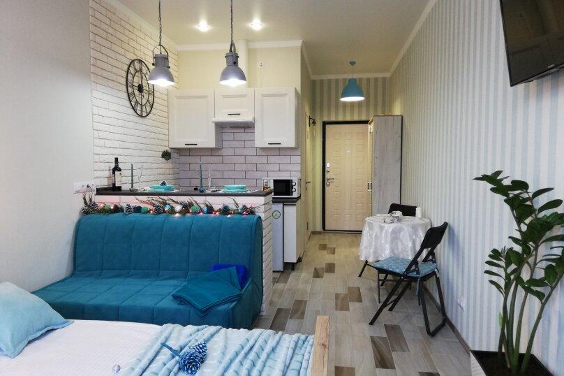 1-комн. квартира, 25 кв.м. на 4 человека, Туристическая улица, 4Гк7, Геленджик - Фотография 2