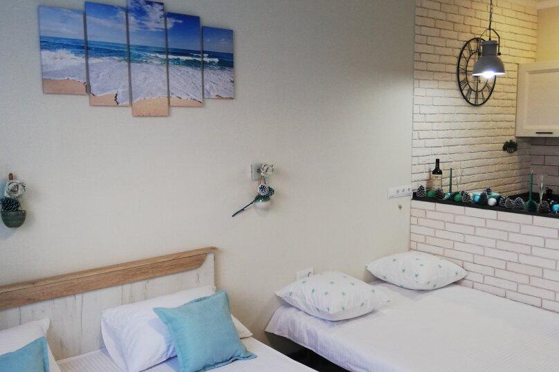 1-комн. квартира, 25 кв.м. на 4 человека, Туристическая улица, 4Гк7, Геленджик - Фотография 6