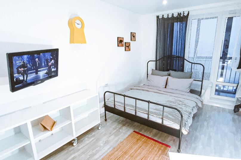 1-комн. квартира, 35 кв.м. на 4 человека, Оренбургский тракт, 4Б, Казань - Фотография 18