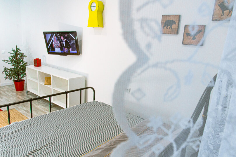 1-комн. квартира, 35 кв.м. на 4 человека, Оренбургский тракт, 4Б, Казань - Фотография 23