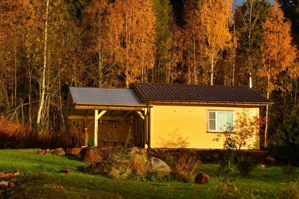 Дом с выходом в лес , 35 кв.м. на 4 человека, 1 спальня