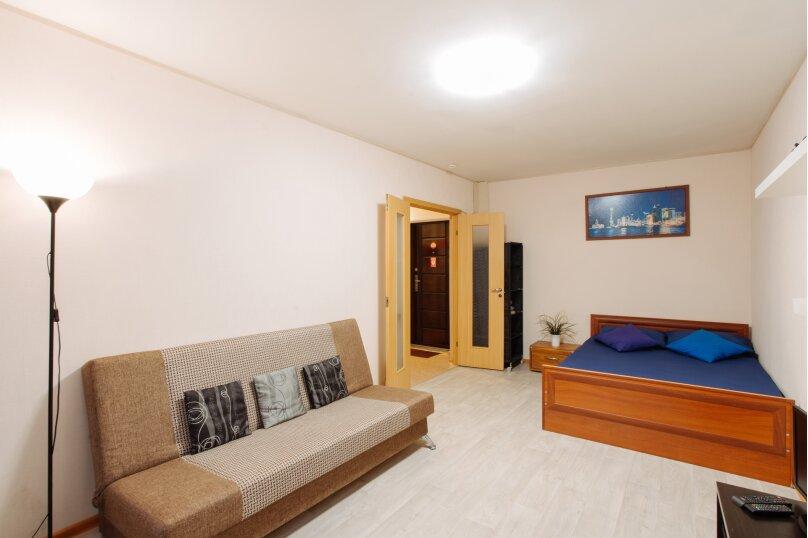 1-комн. квартира, 36 кв.м. на 4 человека, улица Ватутина, 28, Петрозаводск - Фотография 5