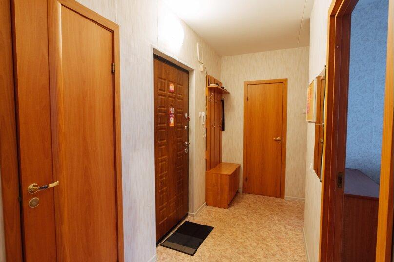 2-комн. квартира, 60 кв.м. на 5 человек, улица Суворова, 37, микрорайон Древлянка, Петрозаводск - Фотография 16