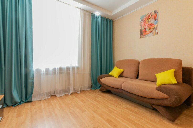 2-комн. квартира, 51 кв.м. на 4 человека, улица Гагарина, 16, Волгоград - Фотография 8